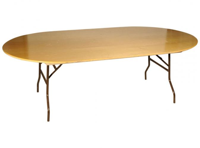 Table ovale 26 - 30 pers
